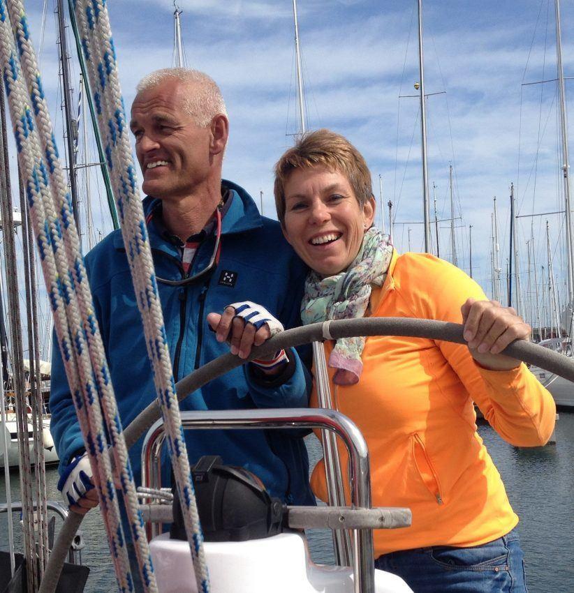 Sa-Sailing klanten gouden website