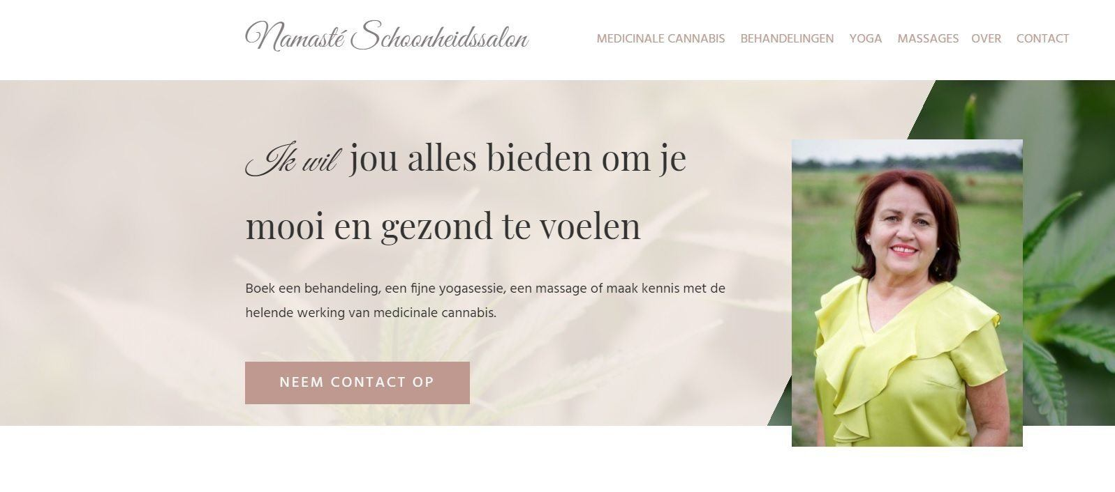 Website namaste