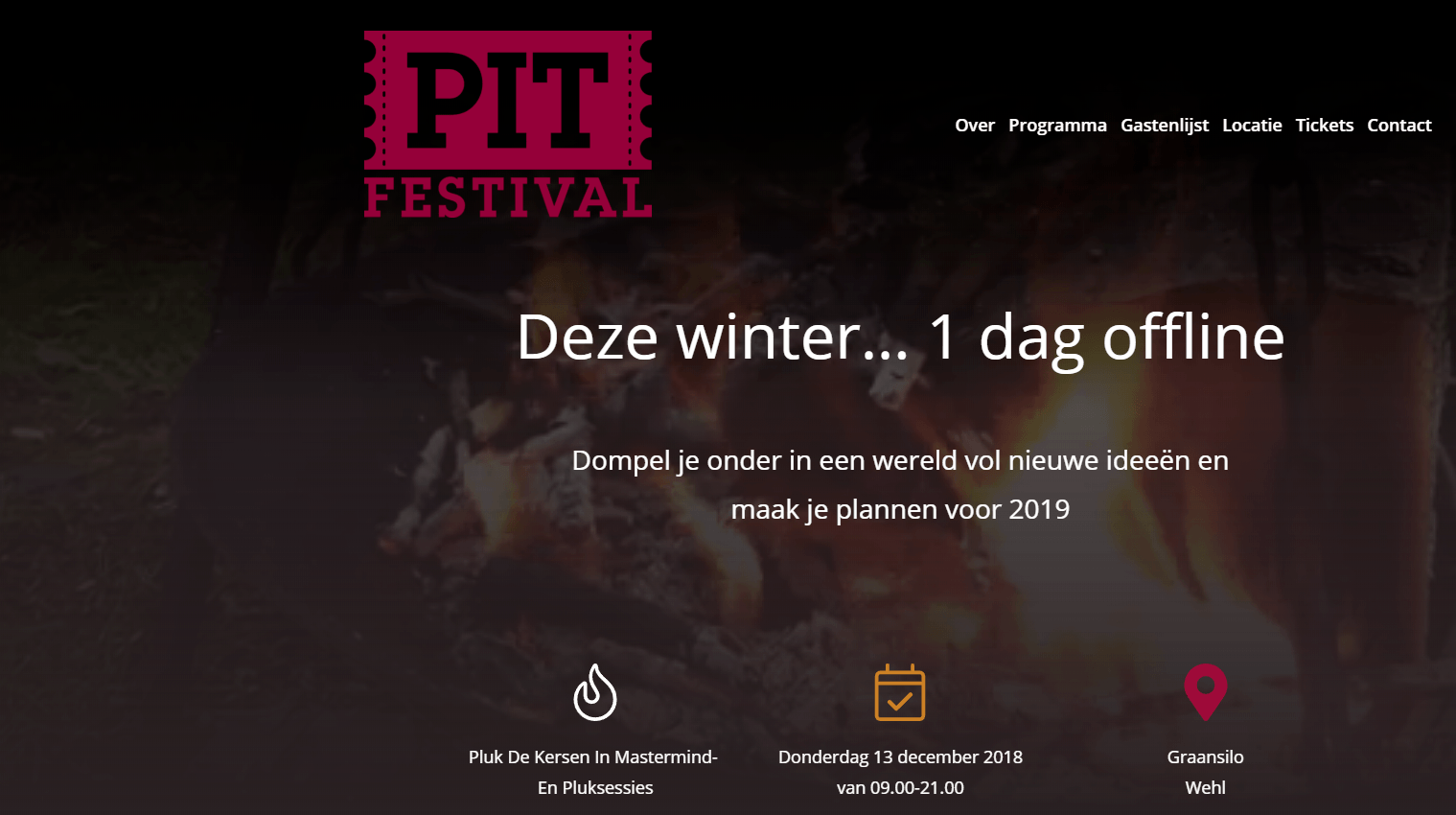 Website pitfestival
