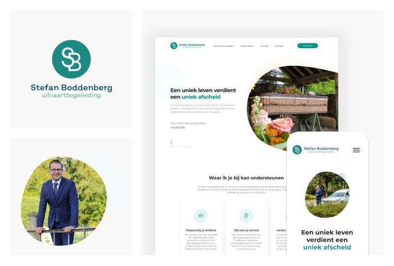 Stefan Boddenberg - Website Mockup