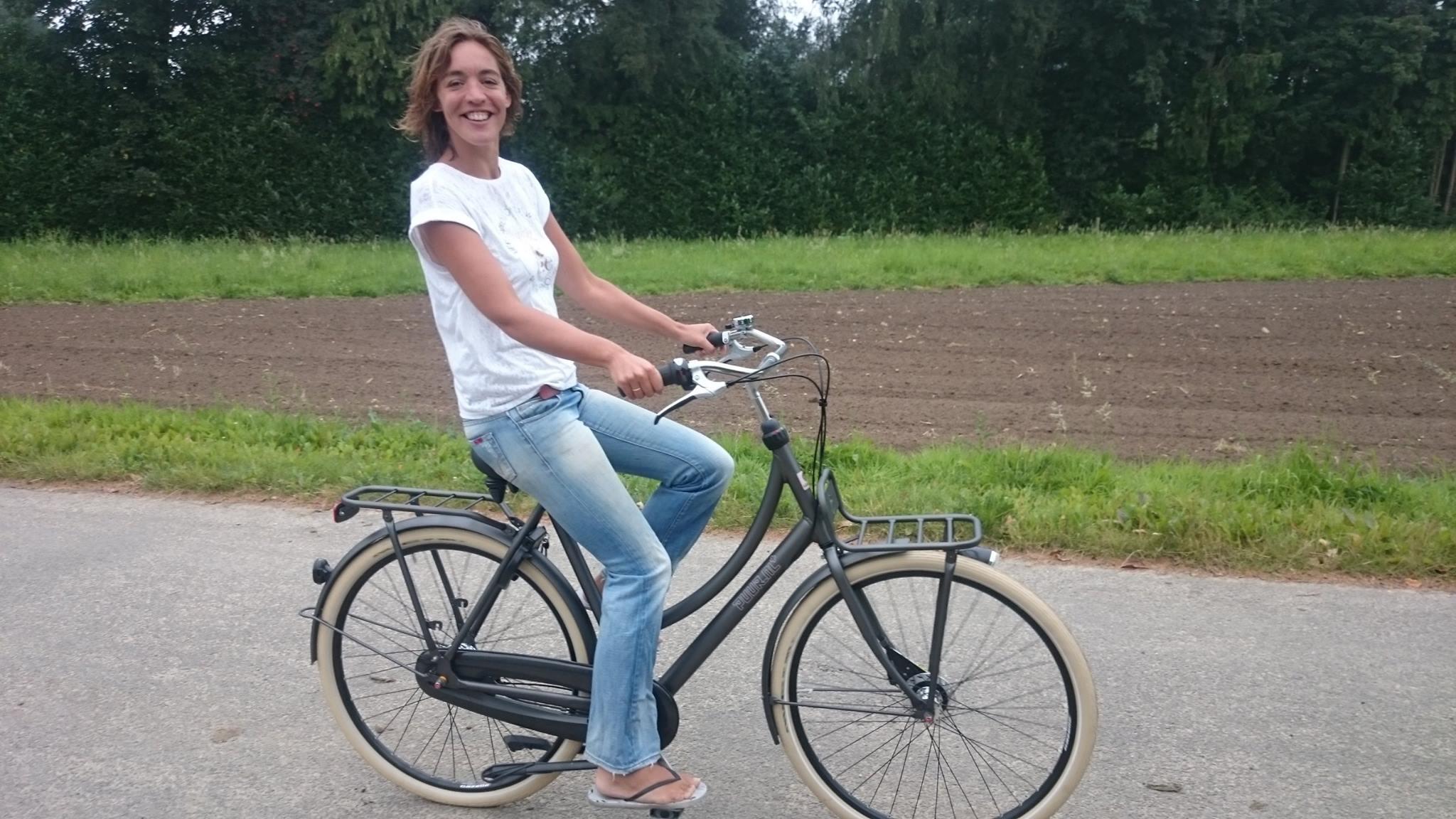 Tegenslag verwerken als ondernemer - Vrolijk op de fiets