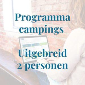 Programma campingeigenaren uitgebreid 2 personen