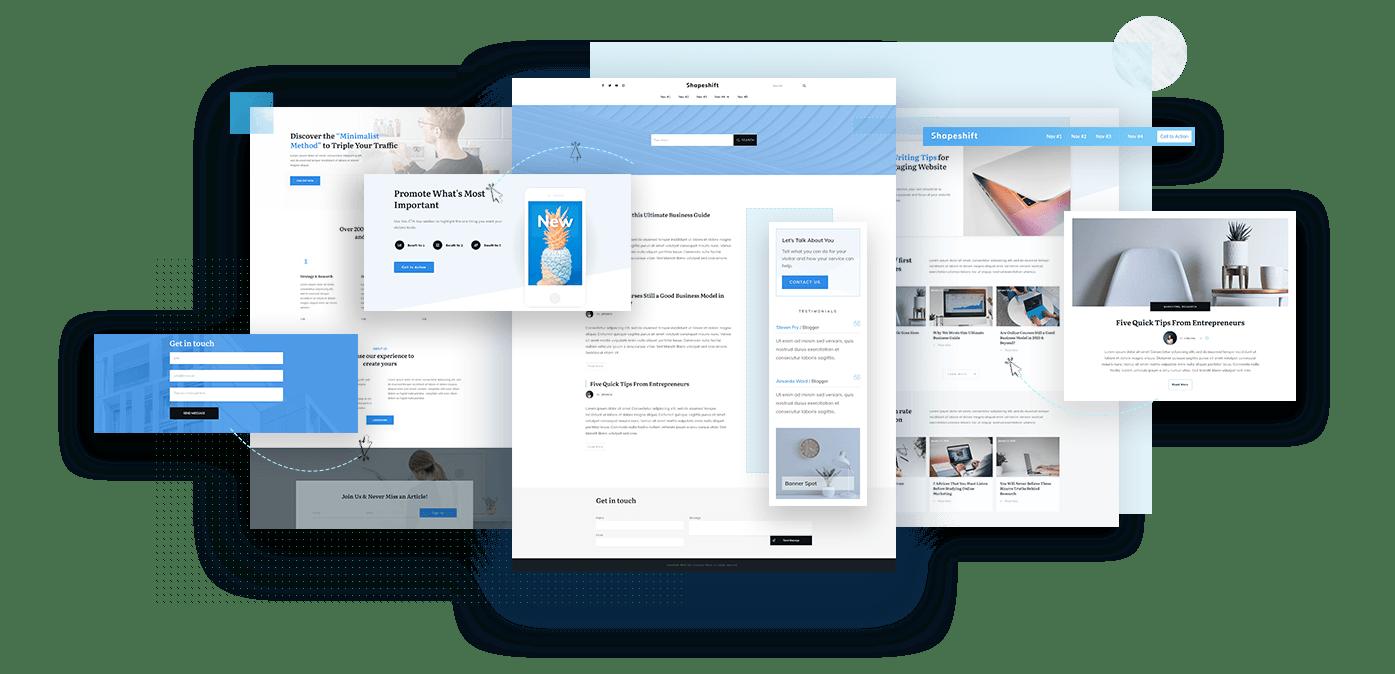 Zelf thema aanpassen - Thrive Theme Builder van Thrive Suite